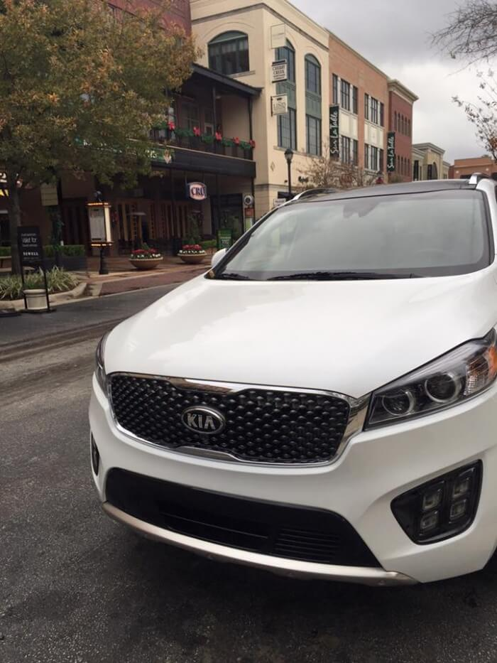 2016 Kia Sorento AWD is going shopping with me