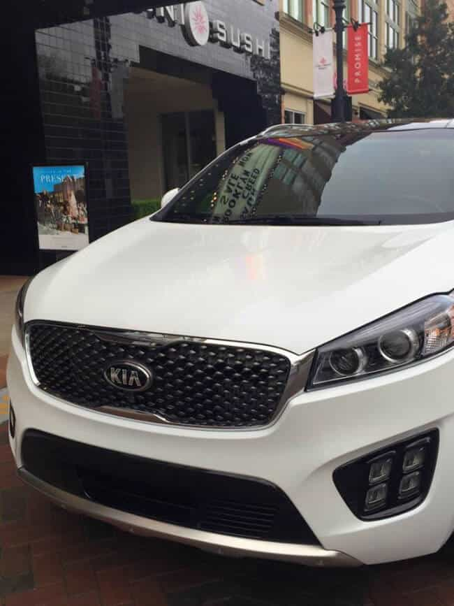 2016 Kia Sorento AWD out on the town