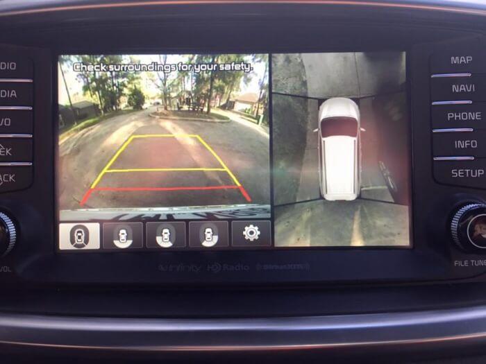 2016 Kia Sorento SXL 2.0T AWD All-Around Camera