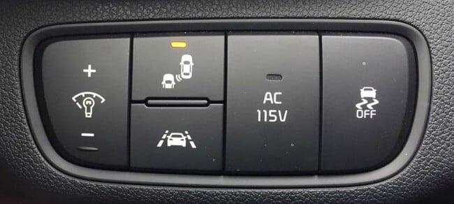 2016 Kia Sorento Safety features