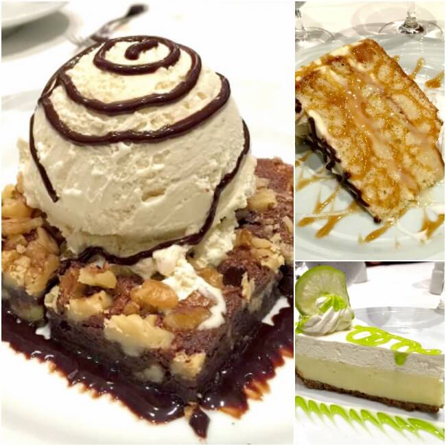 Fogo De Chao Desserts Collage