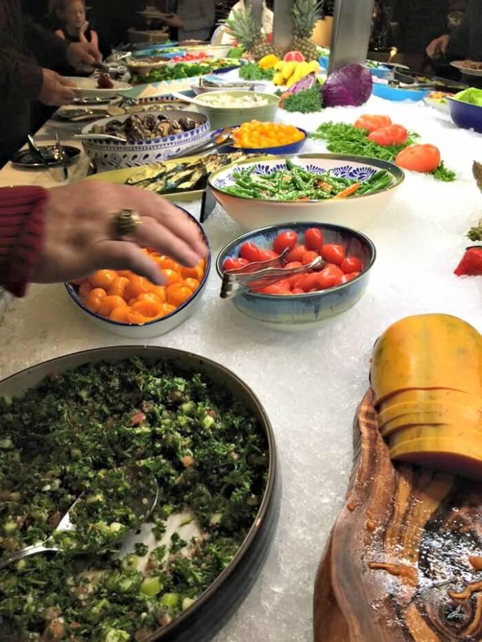 Fogo De Chao - Salad Bar - Market Table