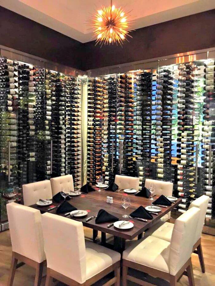 Fogo De Chao - Wine Room - The Woodlands - Flavor Mosaic