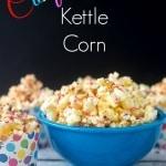 Confetti Kettle Corn Popcorn Recipe