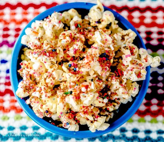 Confetti Kettle Corn Popcorn Recipe Flavor Mosaic