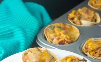 Tex Mex Jambalaya Taco Cups #SundaySupper