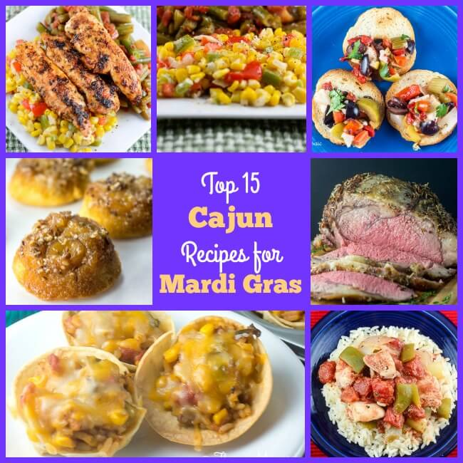 Top 15 Cajun Recipes for Mardi Gras Collage