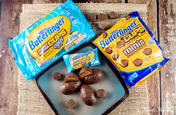 BUTTERFINGER® Cup Egg German Chocolate Cupcakes