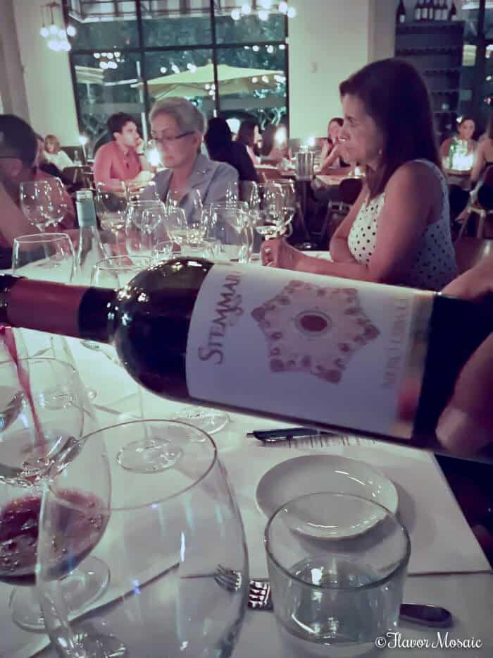 Stemmari Wine Dinner