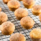 Churro Muffins with cinnamon sugar