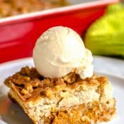 Pumpkin Walnut Crunch Cake - Crumble - Fall Dessert - Flavor Mosaic