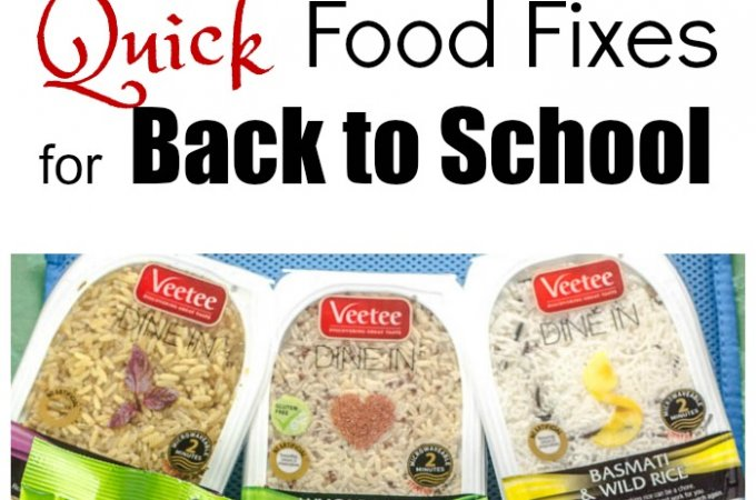 Quick Food Fixes for Back to School #BabbleBoxBTS