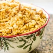 Rice Pilaf Recipe (With Vermicelli)